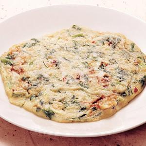 冷凍食品 業務用 韓国産海産物チヂミ 約130g×2枚入    お弁当 手焼き もちもち 韓国料理 珍味 韓流 アジア料理|syokusai-netcom