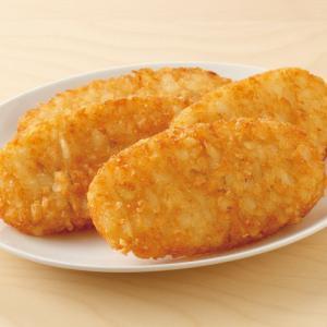 冷凍食品 業務用 オーバルハッシュブラウンパティ 約620g(10枚入)    お弁当 ハッシュドポテト 一品 揚物 ポテト 洋食|syokusai-netcom