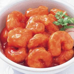 冷凍食品 業務用 ナゴヤカ中華エビのチリソース煮 160g    お弁当 一品 惣菜 エビチリ えびチリ 海老チリ チリソース 中華料理|syokusai-netcom