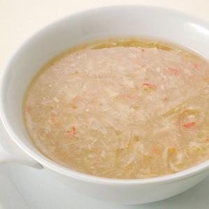 冷凍食品 業務用 カニ入り フカヒレスープ 170g    お弁当 一品 惣菜 ふかひれ業務用 中華料理 スープ|syokusai-netcom