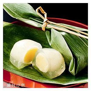冷凍食品 業務用 笹カスタード 25g×15個入 葛餅 和風 会席 もち 餅 モチ 餅 和菓子 スイーツ 茶|syokusai-netcom