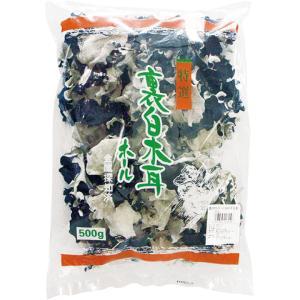 業務用  裏白木耳ホール 5cmUP 500g|syokusai-netdrycom