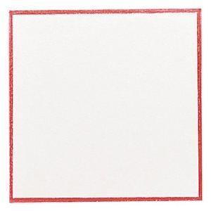 業務用 赤枠敷紙 厚口 4号 26-2104  117×117mm 100枚|syokusai-netdrycom