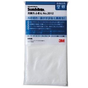 業務用 スコッチブライト高耐久ふきん#2012 白|syokusai-netdrycom
