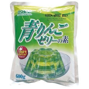 業務用  ゼリーの素 青りんご 600g粉末|syokusai-netdrycom