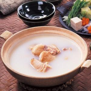 業務用 よせ鍋つゆ 鶏白湯仕立て 1L  販売期間 10-2月    なべ つゆ スープ 調味料 鍋の素 鍋調味料 syokusai-netdrycom