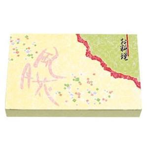 業務用 紙ボックス 本体 90-60風月花【外箱のみです】 50枚入|syokusai-netdrycom
