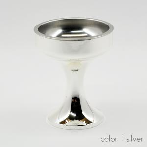 仏器(ご飯入れ)/001シルバー/合金属製/創価学会用仏具/SGI・SOKA syosyudo