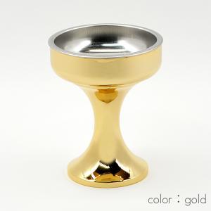 仏器(ご飯入れ)/003ゴールド/合金属製/創価学会用仏具/SGI・SOKA syosyudo