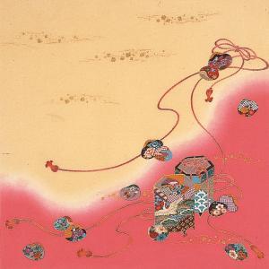 匠の技術で染め上げた美を一枚の布に込めた正絹ちりめん友仙ふろしきです。   ■サイズ ・約68cm×...