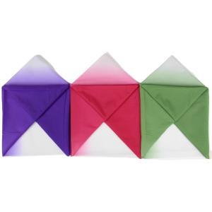 風呂敷 Hu11-13 約103cm×約104cm 赤・紫・緑ボカシ ぼかし 三巾 【メール便OK】 日本製