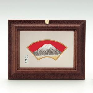 純銀額 M5号 富士紙箱入り|syoubidou