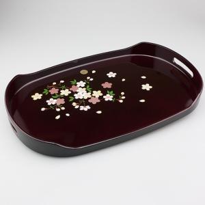 長手盆 小判型長手盆 桜 15号紙箱入り |syoubidou