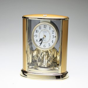 叙勲記念品 叙勲お祝い 「電波時計 パルドリームR659 CITIZEN(シチズン)紙箱入り」 叙勲挨拶状付 お祝い品|syoubidou