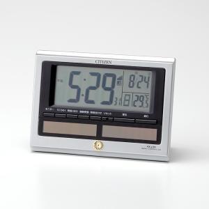 叙勲記念品 叙勲お祝い 「電波時計 パルデジットソーラーR125 8RZ125-019 CITIZEN(シチス゛ン)」 叙勲挨拶状付 お祝い品|syoubidou