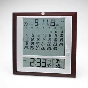 電波時計 掛置兼用 SQ421B SEIKO(セイコー) syoubidou