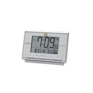 叙勲記念品 叙勲お祝い 「電波時計 SQ698S SEIKO(セイコー) ライト付紙箱入り」 叙勲挨拶状付 お祝い品|syoubidou
