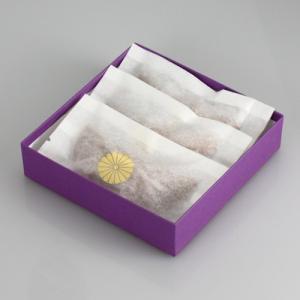 伝統残月(でんとうざんげつ) 謹製銘菓 3個入|syoubidou