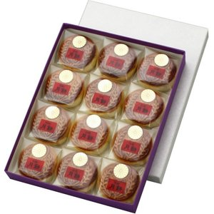 月餅(げっぺい) 謹製銘菓 12個入|syoubidou