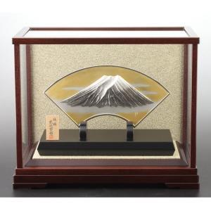 銀製扇面富士 3号(中)|syoubidou