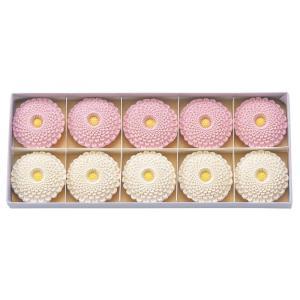 干菓子 和三盆千重菊(わさんぼん ちえぎく) 10個入 謹製銘菓|syoubidou
