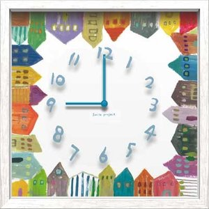 Artist Clock Chikako Futatsugi  House|syoukai-tv