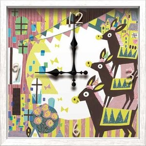 Artist Clock Chikako see saw.|syoukai-tv