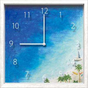 Artist Clock Miyuki Shimazaki 海|syoukai-tv
