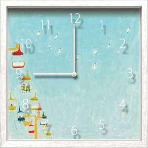 Artist Clock Miyuki Shimazaki 空|syoukai-tv