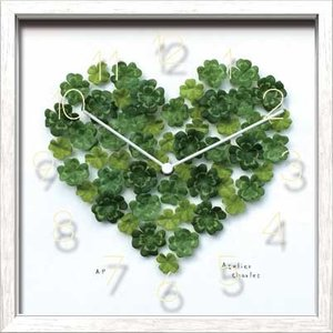 Artist Clock Clover Heart|syoukai-tv