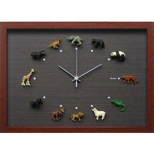 design clock  Wild Life 1|syoukai-tv