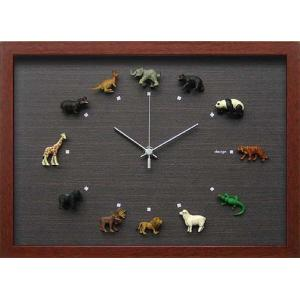 design clock  Wild Life 1|syoukai-tv|01