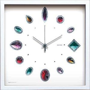 Display Clock Jewel|syoukai-tv