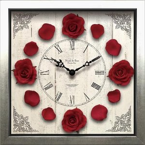 Clock Classique Rose/Wine Red|syoukai-tv