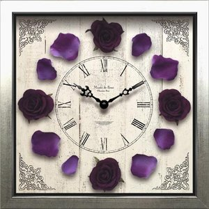 Clock Classique Rose/Purple|syoukai-tv