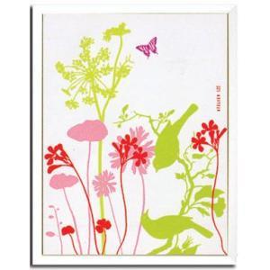 インテリアアート・ポスターフレーム アトリエLZC Atelier LZC  Fleurs et oiseaux W430xH530xD30mm|syoukai-tv