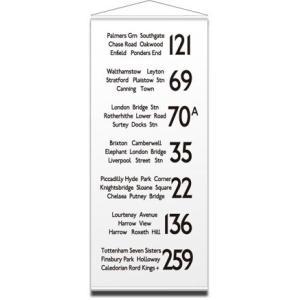 バスロールデザインタペストリー IBR-51724 TAPESTRY LONDON 2/サイズ:W900xH2085mm|syoukai-tv