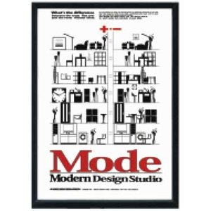 Modern Design Studio Poster 530x730x30mm|syoukai-tv