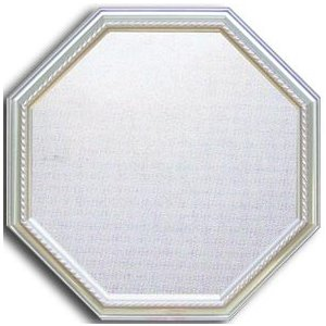 風水八角ミラー サイズ W465×H465×D30mm 1.8kg Huit Mirror Silver|syoukai-tv