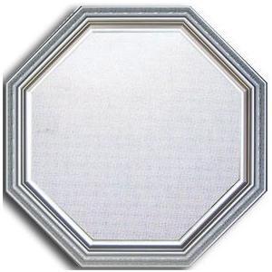 風水八角ミラー サイズ W485×H485×D30mm 2.3kg Huit Mirror Silver|syoukai-tv