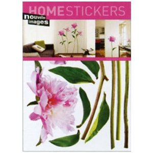 OHS-14260 Home stickers Cedric Porchez / Pivoine rose|syoukai-tv