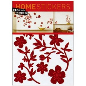 OHS-14272 Home stickers Lenor Mataillet / Guirlande rouge|syoukai-tv