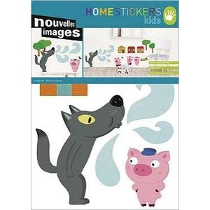 OHS-50121 Home stickers 3 little pigs|syoukai-tv