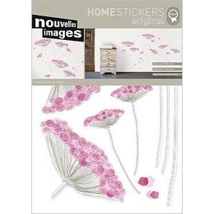 OHS-50316 Home stickers Lace Flowers|syoukai-tv