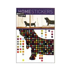 OHS-50395 Home stickers Basset|syoukai-tv