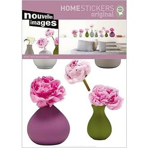 OHS-50878 Home stickers Vases of peonies|syoukai-tv