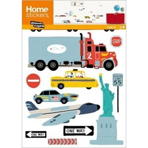 OHS-51481 Home Stickers  Transports US|syoukai-tv
