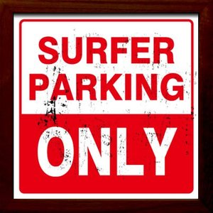 ZSF-52028 SIGN FRAME Surfer Paking Onli|syoukai-tv