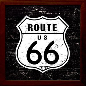 ZSF-52030 SIGN FRAME Route 66|syoukai-tv