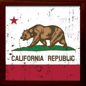 ZSF-52031 SIGN FRAME Route 66California Republic|syoukai-tv